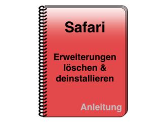 Anleitung Safari Browser Erweiterung deinstallieren löschen