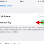Daten Roaming deaktivieren Aktivieren 3_1