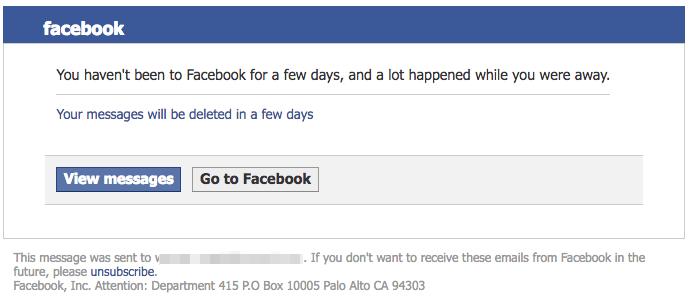 Facebook Spam Nachrichten lesen