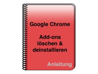 Google Chrome Erweiterungen entfernen deaktivieren