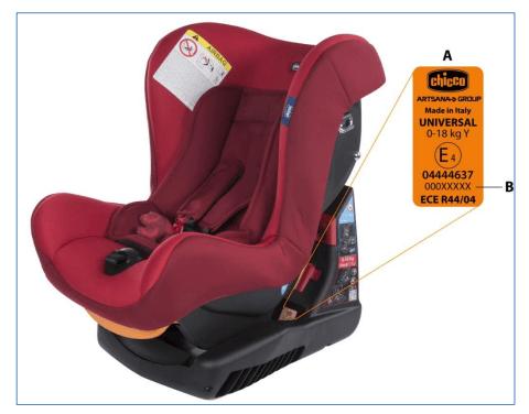 Rückruf Chicco Cosmos Kindersitz