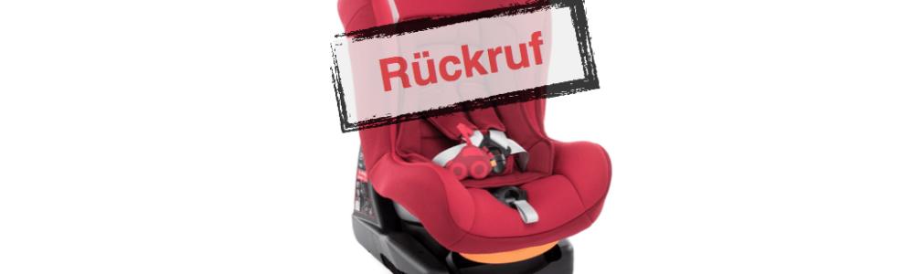 Chicco ruft Auto-Kindersitz Cosmos zurück