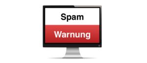 Spam Warnung