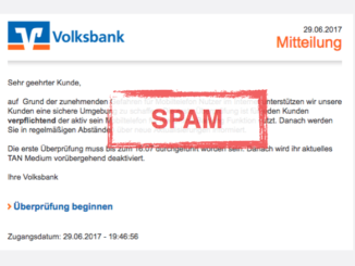 VR Check Spam Mail Android Trojaner