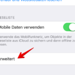 iPhone und iPad JavaScript in Safari deaktivieren 3