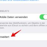 iPhone und iPad JavaScript in Safari deaktivieren 3