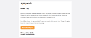 2017-07-24 Amazon Spam Verifizierung Ihres Amazon-Kontos