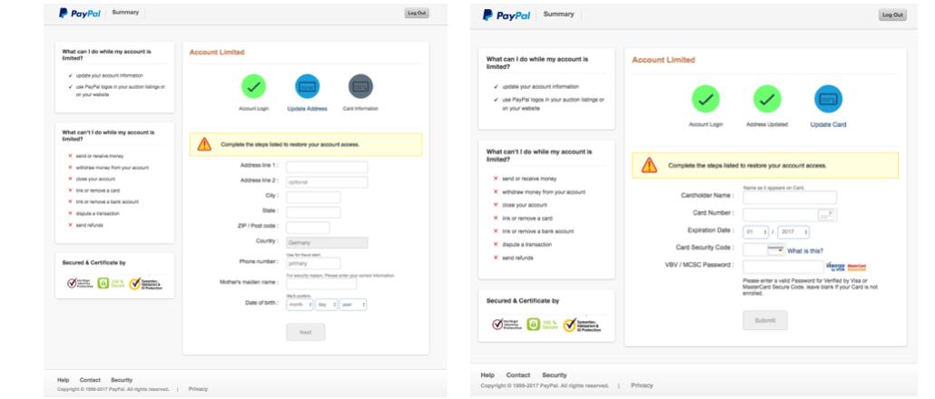 2017-07-27 PayPal Spam Phishing