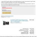 Amazon Spam Zahlung abgekehnt Ihr Konto wurde eingeschraenkt