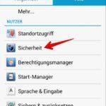 Android Installation von unsicheren Apps blockieren 2