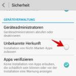 Android Installation von unsicheren Apps blockieren 3