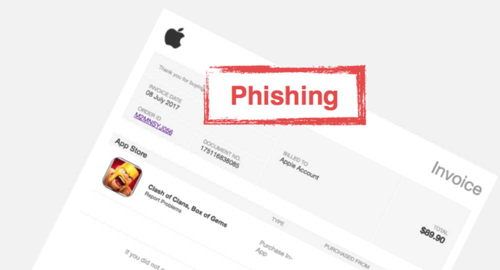 Apple App Store Phishing: Rechnung per E-Mail für Mobile Legends: Bang bang ist Spam