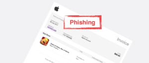 Apple Spam Phishing Mail Fraud transaction on your ID