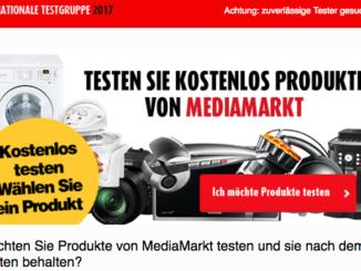 Datensammler Spam Mail Testen Sie kostenlos Produkte von Mediamarkt