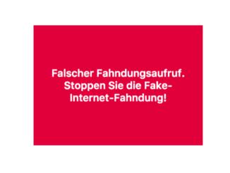 Fake Fahndungsaufruf G20 Hamburg