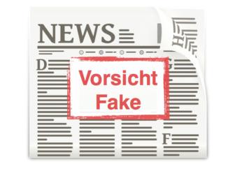 Fake News Symbolbild