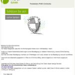 Fidor Bank Phishing Systemnachricht Fidor Konto