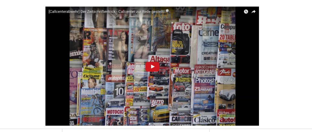 Mediawelt Ruft An Sie Sind Finalist Und Sollen Ein Abo Abschließen