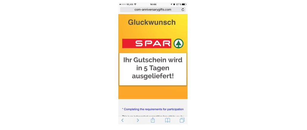 voucher gutschein whatsapp