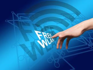Symbolbild WLAN, Free WiFi, Hotspot
