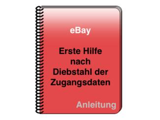 ebay Erste Hilfe nach Diebstahl Zugangsdaten Phishing