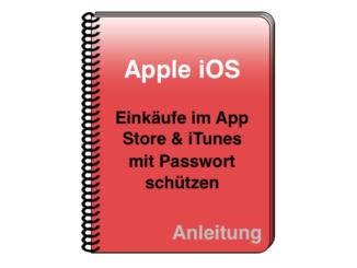 iOS Passwortschutz App Store iTunes 0