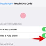 iOS Passwortschutz App Store iTunes 3