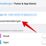 iOS Passwortschutz App Store iTunes 5