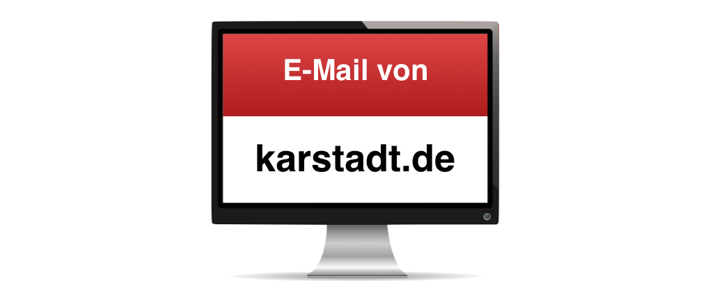 Spam E Mail Von News At Newsletterkarstadtde Hotline At Karstadtde