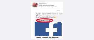 2017-08-07 Facebook Spam Phishing Messenger Nachricht