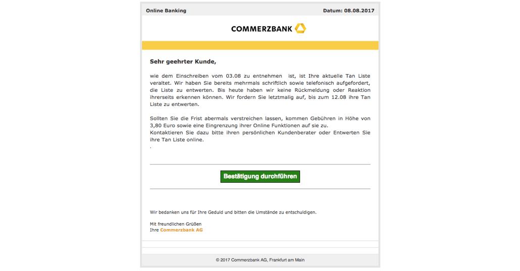 2017-08-09 Phishing Commerzbank