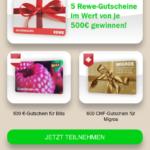 2017-08-21 REWE Gewinnspiel der Inside Lead GmbH