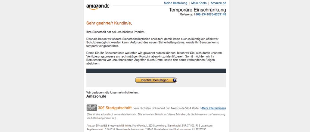 2017-08-25 Amazon Phishing