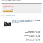 2017-08-25 Amazon Spam Mail Zahlung abgelehnt