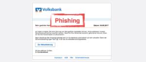 2017-09-05 Volksbank Spam VR-Bank Wichtige Kundenmitteilung