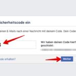 Anleitung Facebook Passwort zurücksetzen 3