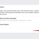 Anleitung Facebook Passwort zurücksetzen 5
