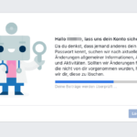 Anleitung Facebook Passwort zurücksetzen 6