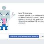 Anleitung Facebook Passwort zurücksetzen 7