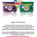 E-Mail Ariel Tester gesucht