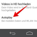 Faebook Videos Autoplay deaktivieren Android 2