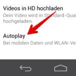 Faebook Videos Autoplay deaktivieren Android 2