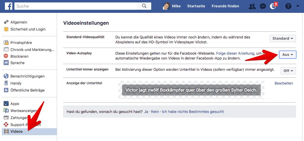 facebook abmelden handy