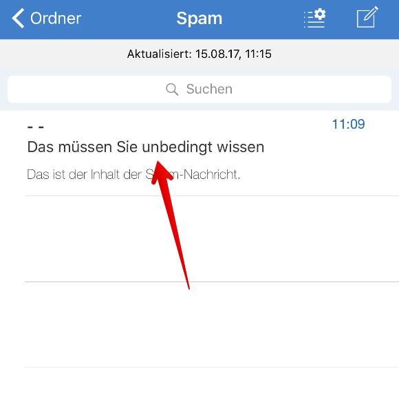 Gmx spam deaktivieren