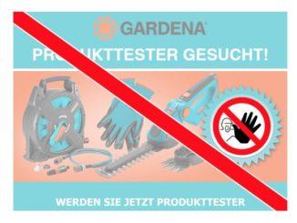 Gardena Gewinnspiel stammt von Datensammler