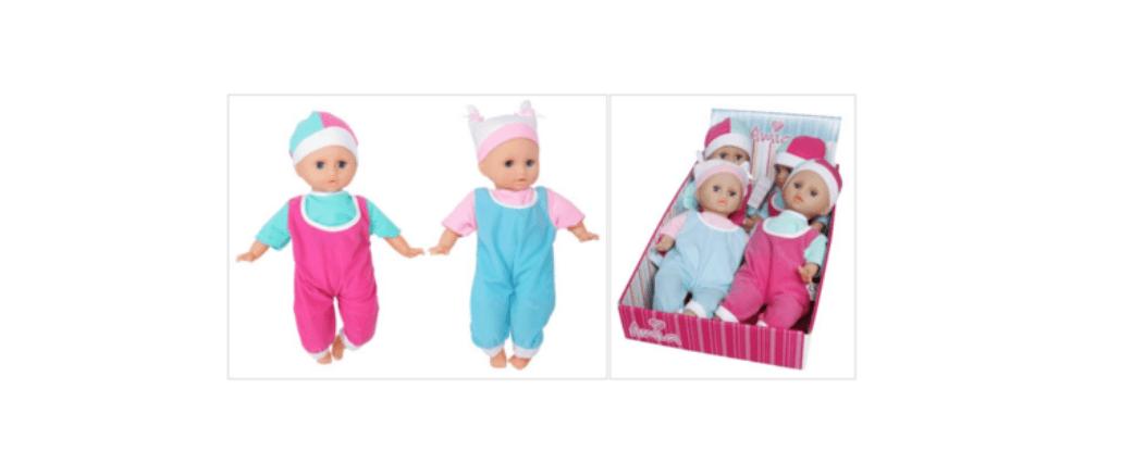 Rückruf Amia Schlaf Baby Puppe
