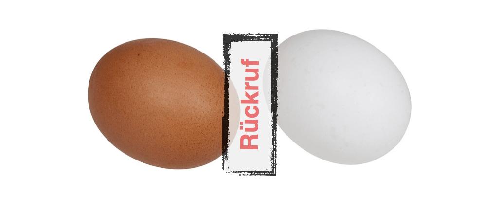 Rückruf Eier Symbolbild