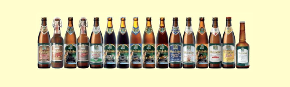 Brauerei Wolfshöher ruft mehrere Biere und Wassersorten zurück