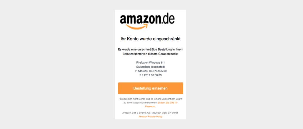 2017-09-02 Amazon Phishing