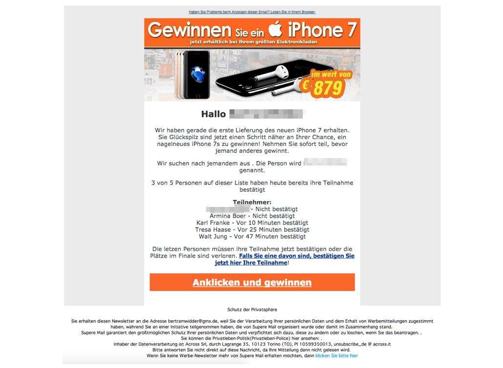 2017-09-04 iPhone Gewinnspiel Kostenfalle